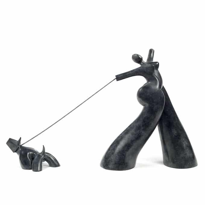 Femme au chien 09